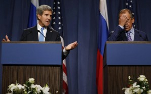 US allows non vetted citizens to work in its diplomatic facilities without requiring background checks? Unbelievable but true according to information made disclosed recently via the Congressional Record recently. Pictured here: US Secretary of State Kerry embarrassing his Russian counterpart in Geneva..