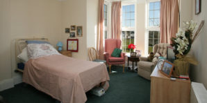 Private nursing care room