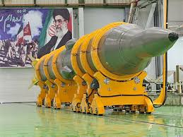 Iranian ballistic missile capable of wearing a nuclear warhead.