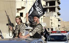 ISIL fighters carrying US made weapons in Syria and Iraq. To such an extent that security official suggest it can't be a mere coincidence.