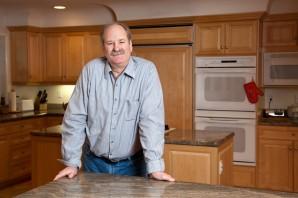 Charlie Hudson in Custom Built Kitchen(1)