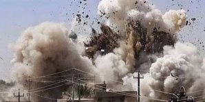 An ISIS command node gets blown to hell in Iraq!