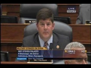 Steven M. Palazzo resigns as ember of the House Armed Services Committee.
