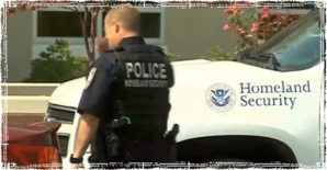 The Department of Homeland Security policeman.