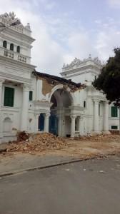 Nepal Earthquake 2015, sigha durbar