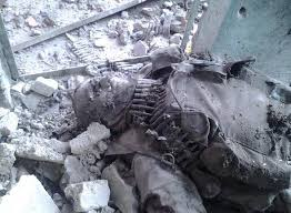 Dead ISIL Militant killed in deadly US Airstrike over the weekend.