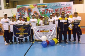Bahrain Philippine Cargo team led by Alex Mejia won the Best Team Management and Most Organized team