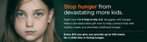 Child hunger.