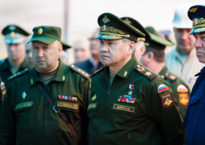 Russian top Defense Minister Sergei Shoigu ordered the establish modern military and social infrastructure at the Step airfield.