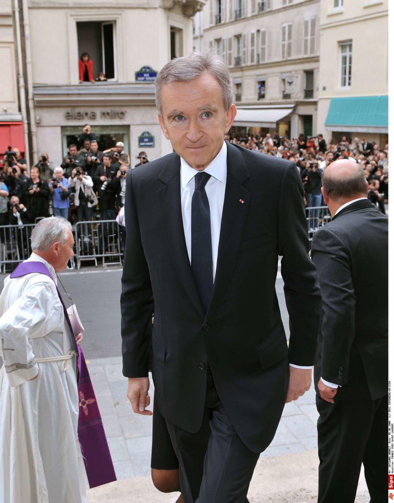 Bernard Arnault - FRANCE YVES SAINT LAURENT