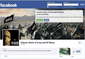 ISIS facebook page.